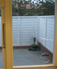 Cat door in Yarraville by Ometek Glass