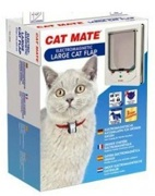 Med-Lrg Electromagnetic Cat Door by Cat Mate