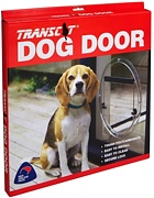 Glass Fitting Dog Door by Transcat